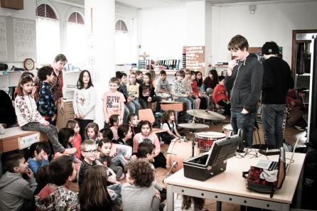 Atelier de musique à Chamoson
